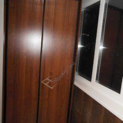Мебель на заказ для лоджии после ремонта под ключ - шкаф купе