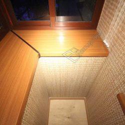 Остекление балкона с выносом за пределы парапетной части, ремонт под ключ