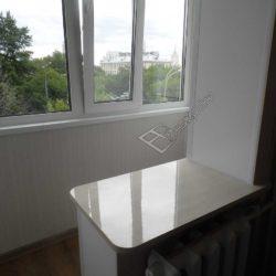 Капитальный ремонт и совмещение балкона с кухней