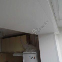 Отделка проема балкона, совмещенного с кухней
