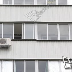 Присоединение балкона дома серии 600 к комнате и кухне