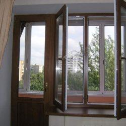 Тёплые пластиковые окна, для квартир, балконов и лоджий