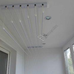Обшивка стен и потолка 3 метровой лоджии пластиковыми панелями