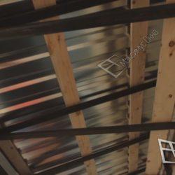 Внешний вид крыши со стороны лоджии