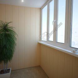 Внешняя и внутренняя обшивка балконов и лоджий