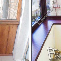 балкон в сталинке до и после