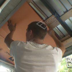 Шумоизоляция крыши балкона хрущевки пеноплексом