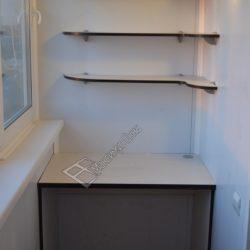 Встроенная мебель для кабинета на лоджии
