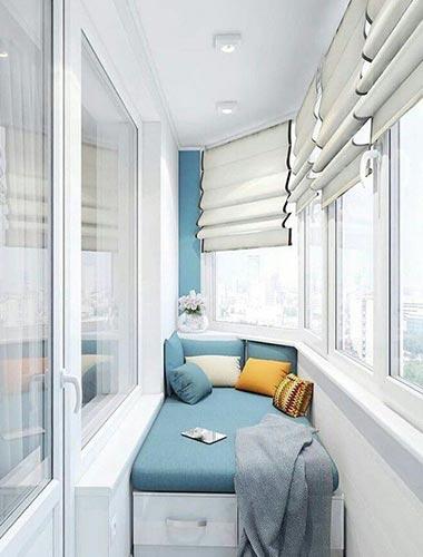 Капитальный ремонт балконов и лоджий под ключ