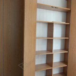 Встроенная мебель изготовленная для лоджии под заказ