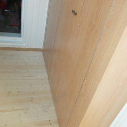 Мебель изготовленная на заказ для лоджии, корпусный шкафы