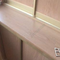 Мебель на заказ для балкона - встроенный шкафы с дверями купе
