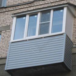 Монтаж крыши балкона с остеклением