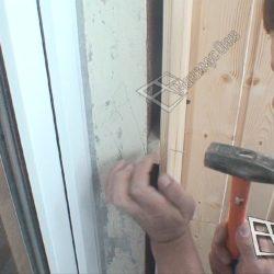 Обшивка балкона евровагонкой внутри при ремонте под ключ.
