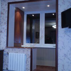 Лоджия объединенная с комнатой, демонтаж балконного блока