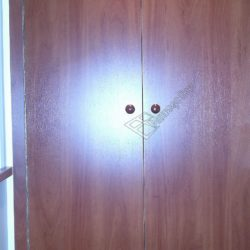 Распашной шкаф на лоджии после объединения с комнатой и ремонта под ключ