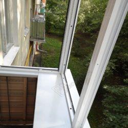 Холодное застекление балкона под ключ