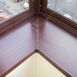 Вынос алюминиевого остекления за пределы ограждения балкона