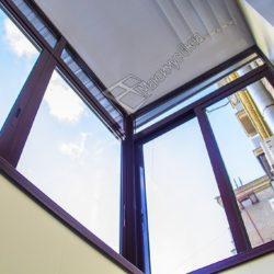 ПВХ отделка балкона с выносом