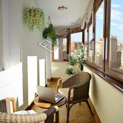 балкон дизайн интерьера фото