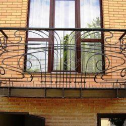 французский балкон ковка фото