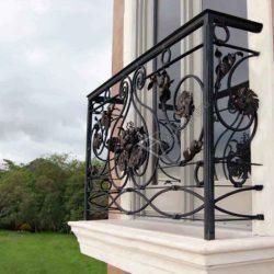 ограждение французского балкона фото