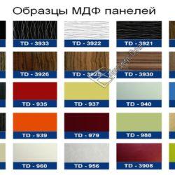 Обшивка МДФ панелями