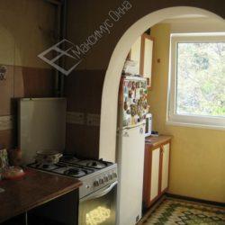 арка с кухни на балкон