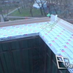 выносной подоконник на балконе