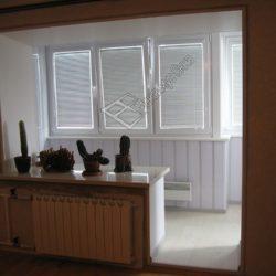 утепление балкона и присоединение к комнате