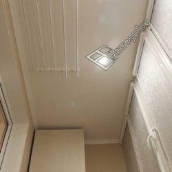 потолок с установкой светильников