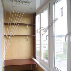 сушилка для белья на балкон потолочная