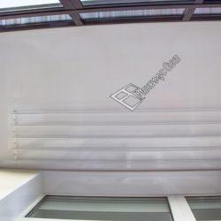 сушилка на потолке и внутренняя отделка балкона