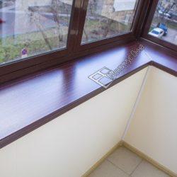 Остекление с выносом балкона сталинки с ремонтом под ключ