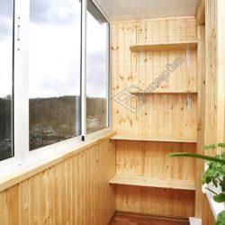 Отделываем балкон вагонкой
