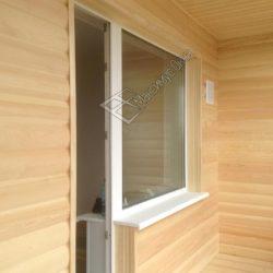 обшивка балконов вагонкой блок хаус
