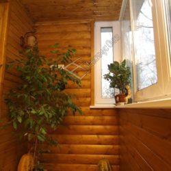 блок хаус на балконе фото