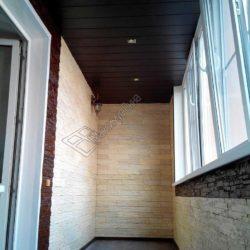 Отделка балкона, лоджии камнем: декоративным, искуственным, натуральным, виды фактуры, дизайн, сочетания