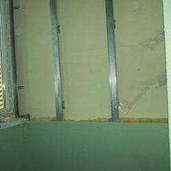 фальш стена из гипсокартона