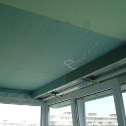 потолок на лоджии гипсокартоном