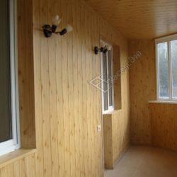 Отделка балконов и лоджий МДФ панелями