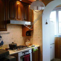 Присоединение кухни к балкону