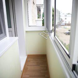 остекление балконов внутренняя отделка