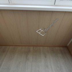 На фото пластиковые панели для балкона
