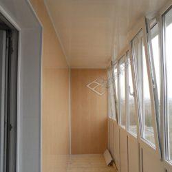обшивка балкона 3х метрового