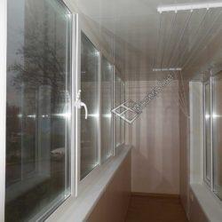 Отделка балконов и лоджий ПВХ панелями