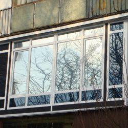 остекление балконов французский балкон