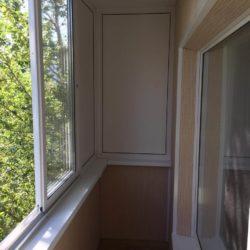 отделка балкона внутри фото