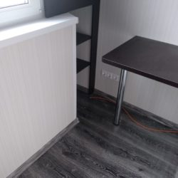 Совмещение балкона с комнатой, утепление в доме серии П-44Т
