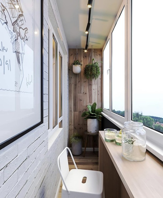 балкон 4 метра
